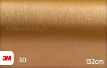 3M 1080 BR241 Brushed Gold wrapfolie