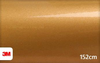 3M 1080 G241 Gloss Gold Metallic wrapfolie