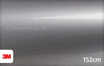3M 1080 G251 Gloss Sterling Silver wrapfolie