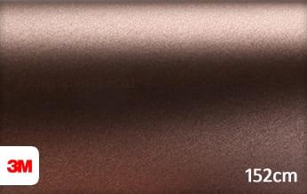 3M 1380 M219 Matte Brown Metallic wrapfolie