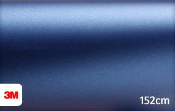 3M 1380 M287 Matte Slate Blue Metallic wrapfolie