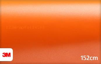 3M 1380 S284 Satin Autumn Orange wrapfolie