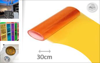 Oranje lampen wrapfolie