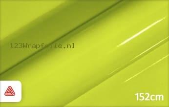 Avery SWF Lime Green Gloss wrapfolie