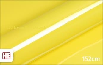 Hexis HX20108B Lemon Yellow Gloss wrapfolie