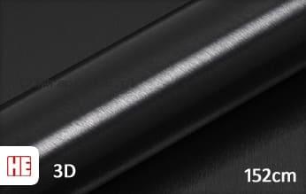 Hexis HX30BA889B Brushed Alu Coal Black Gloss wrapfolie