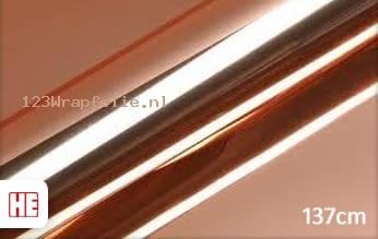 Hexis HX30SCH12B Super Chrome Rose Gold Gloss wrapfolie