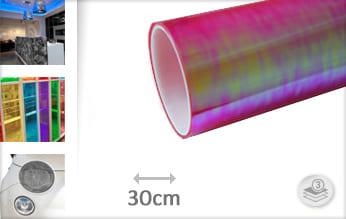 Flipflop roze transparant wrapfolie
