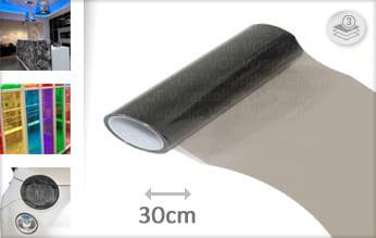 Smoke transparant wrapfolie