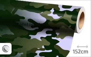 Camouflage groen wrapfolie