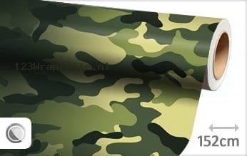 Camouflage oerwoud wrapfolie