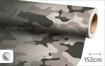 Camouflage wrapfolie