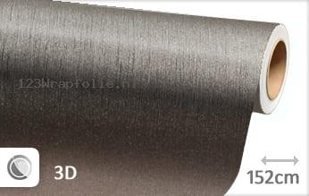 Geborsteld aluminium antraciet wrapfolie