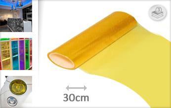 Geel tint wrapfolie