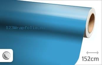 Glans babyblauw wrapfolie
