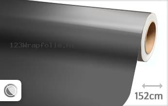 Glans betongrijs wrapfolie