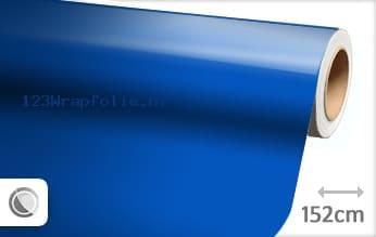 Glans blauw wrapfolie