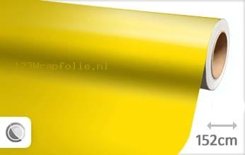 Glans geel wrapfolie