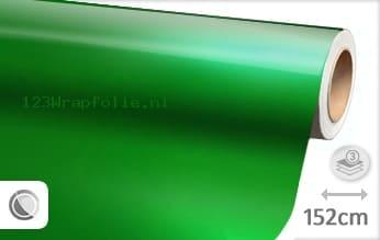 Glans metallic groen wrapfolie