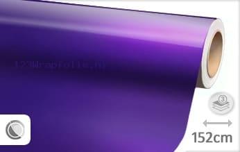 Glans metallic paars wrapfolie