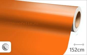 Glans oranje wrapfolie