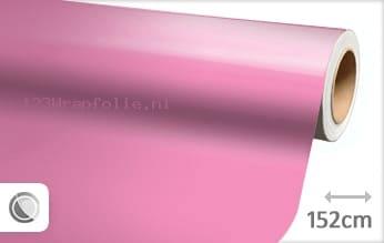 Glans roze wrapfolie