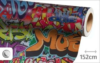 Graffiti wrapfolie