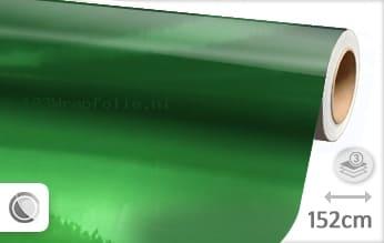 Groen chroom wrapfolie