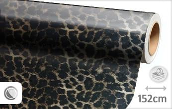 Luipaard print wrapfolie