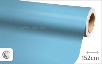 Mat babyblauw wrapfolie