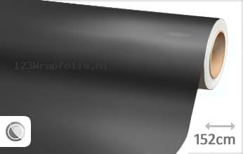 Mat chroom antraciet wrapfolie