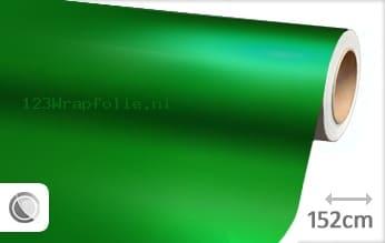 Mat chroom groen wrapfolie
