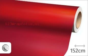 Mat chroom rood wrapfolie