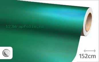 Mat chroom turquoise wrapfolie