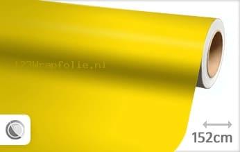 Mat geel wrapfolie