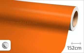 Mat oranje wrapfolie