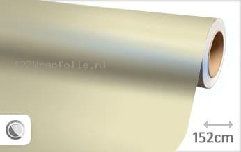 Mat parelmoer wit wrapfolie